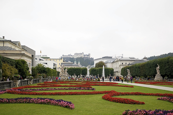 "Scenes from ""Sound of Music"" filmed in the Gardens"