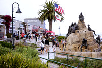Cannery Row Monument at Monterey's Stein Beck Plaza